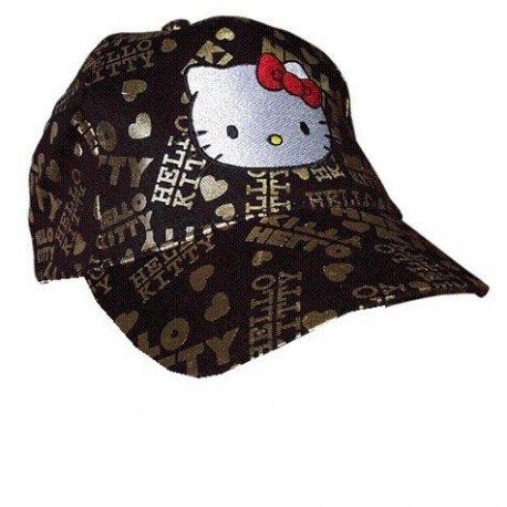 CASQUETTE HELLO KITTY OR