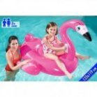 FLAMANT ROSE GONFLABLE 135 X 119 cm